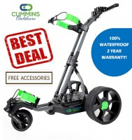 The Alligator 100% Waterproof Remote Control Electric Golf Caddy - BEST DEAL!!