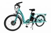 Bat-Bike Expedir Electric Bicycle -Blue Frame