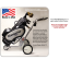 Kangaroo Model 5 Electric Golf Caddy - Very Simple Cart to Operate! - Made in the USA (GOLF BAG NOT INCLUDED)