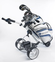 Motocaddy S3 Pro Lithium Golf Caddy - Back View