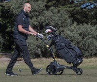 MGI ZIP X1 Lithium Electric Golf Caddy Trolley - Great Starter Buggy