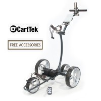 2018 Remote Control Lithium Electric Golf Trolley - Cart-Tek Gri-1500LTD Limited - New Now Available!