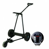 eMotion e3 Electric Golf Push Cart with Voice GPS Pro