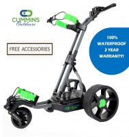 The Alligator 100% Waterproof Remote Control Electric Golf Caddy