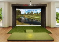TruGolf Vista 12 Golf Simulator - Basic Unit