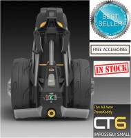 PowaKaddy Compact CT6 Electric Golf Cart with Optional Braking/GPS System