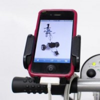Cart Tek Multimedia/Cell Phone Holder