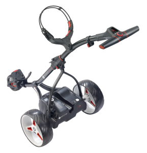 Motocaddy S1 Digital (Black) - Back View