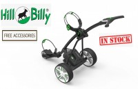 Hill Billy Lithium Electric Golf Caddy Cart Trolley - FREE ACCESSORIES!! (IN STOCK!)