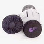 Golf Caddy Accessories - Club Runner Nylon Wheel Covers Image