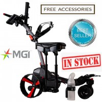 MGI ZIP X3 Lithium Electric Golf Caddy Trolley - Best Seller Titanium Grey (NOW IN STOCK!!)