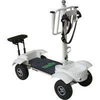 Golf Skate Caddy Electric Golf Cart - Front Side View