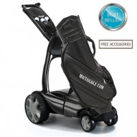 Stewart X9 Follow Remote Golf Trolley - Black Color - Free Accessories (BEST SELLER)